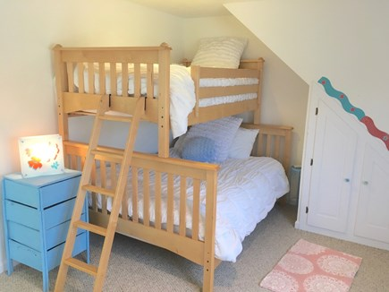 Eastham Cape Cod vacation rental - Bedroom #3 w/bunkbed (twin over full)