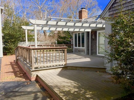 Eastham Cape Cod vacation rental - Side deck