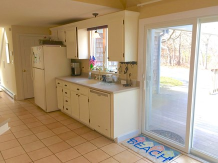 Eastham Cape Cod vacation rental - Kitchen with access to deck