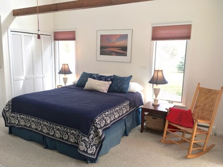 Eastham Cape Cod vacation rental - Master bedroom (main level)