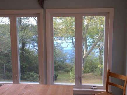 Orleans Cape Cod vacation rental - Kitchen view of water