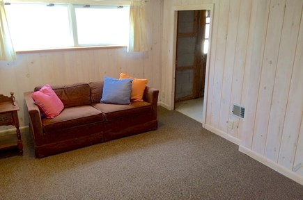Orleans Cape Cod vacation rental - Lower level TV room