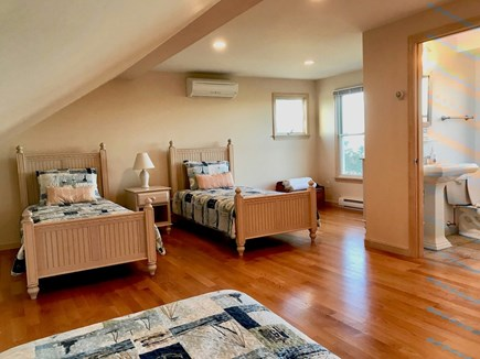 Orleans Cape Cod vacation rental - 3rd floor bedroom & half-bath