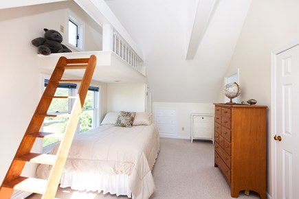 Eastham Cape Cod vacation rental - 2nd upper level bedroom with full size bed and small loft