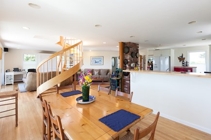 Eastham Cape Cod vacation rental - Open concept living and dining on main level