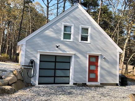 Wellfleet Cape Cod vacation rental - Game Room building with EV Charger.