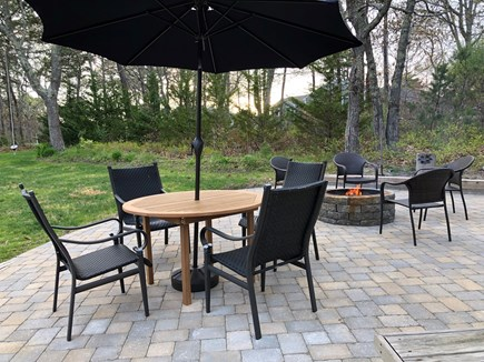 Wellfleet Cape Cod vacation rental - Plenty of space to socialize on the Patio & Fire Pit.