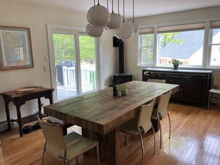 Wellfleet Cape Cod vacation rental - Comfortable communal dining.