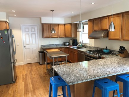 Wellfleet Cape Cod vacation rental - Magnificent kitchen, gas stove & everything at your fingertips.