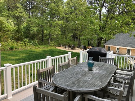 Wellfleet Cape Cod vacation rental - Grill out, dine out, sit out, play out.