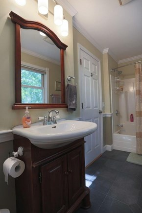 Wellfleet Cape Cod vacation rental - Downstairs full bath.