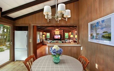 Orleans Cape Cod vacation rental - Eat-in kitchen (opening to Great Room)