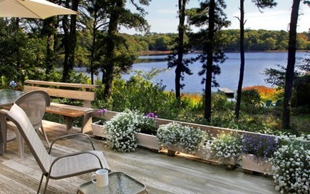 Orleans Cape Cod vacation rental - Lakeview from deck
