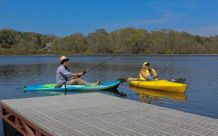 Orleans Cape Cod vacation rental - Enjoy swimming & kayaking from the dock