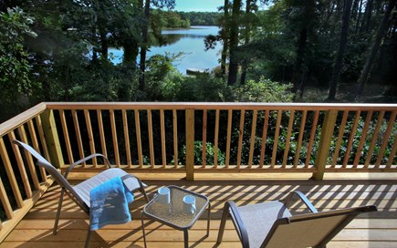 Orleans Cape Cod vacation rental - Deck overlooking water