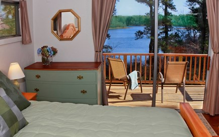 Orleans Cape Cod vacation rental - Slider to private deck from Master