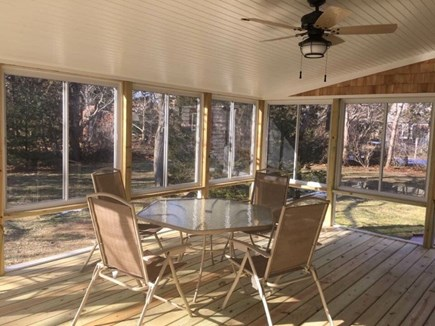 Eastham Cape Cod vacation rental - Screened porch - inside