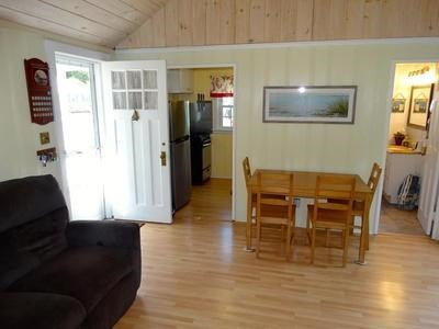 South Yarmouth Cape Cod vacation rental - Living room with 2 recliners  and vaulted ceiling