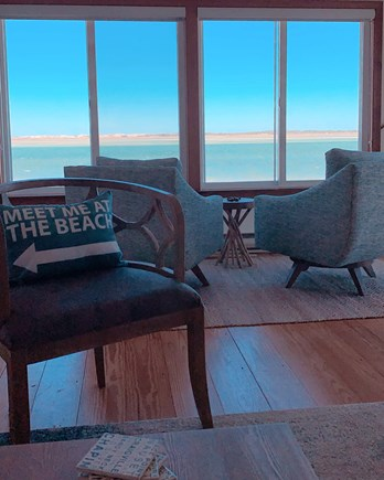 Barnstable  Cape Cod vacation rental - Oceanfront views in every room; enjoy in the cozy seats!