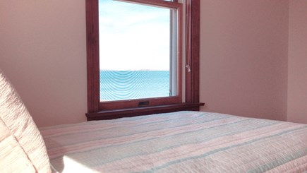 Barnstable  Cape Cod vacation rental - The oceanfront from the twin bedroom.  All rooms with a view!