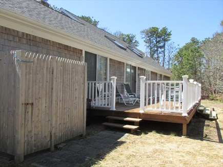 Harwich Port Cape Cod vacation rental - Private Backyard