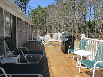 Harwich Port Cape Cod vacation rental - Sunny Deck