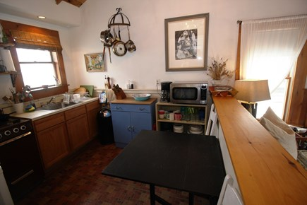 North Truro Cape Cod vacation rental - Kitchen with foldaway table