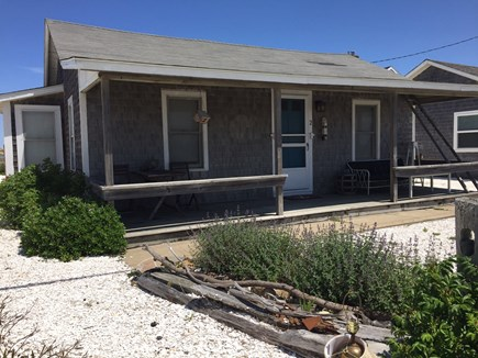 North Truro Cape Cod vacation rental - Front porch - relax and watch the world go by