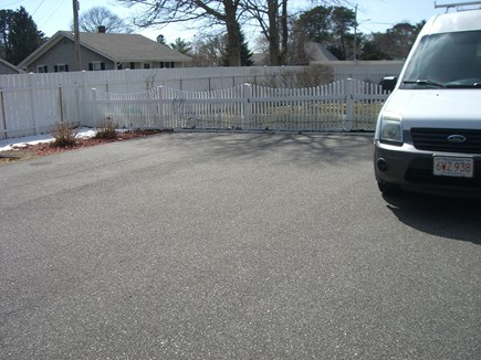 South Yarmouth Cape Cod vacation rental - Driveway