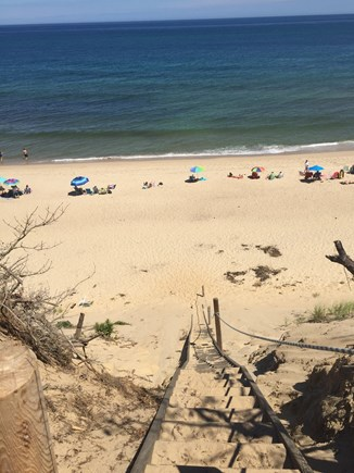 Wellfleet Cape Cod vacation rental - Stairs to beach
