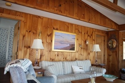 Wellfleet Cape Cod vacation rental - Living room