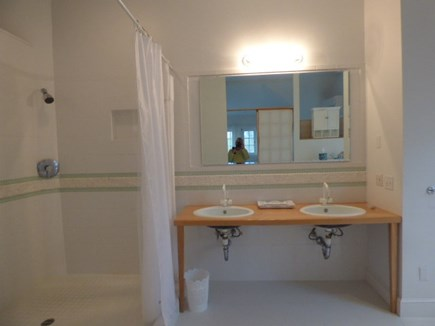 Dennis Cape Cod vacation rental - Rather Large private master bathroom off of the bedroom