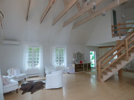 Dennis Cape Cod vacation rental - Other side of vast living room with another conversational area