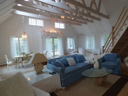 Dennis Cape Cod vacation rental - View of vast living room, just perfect for that girls together.