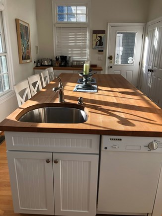Brewster Cape Cod vacation rental - Kitchen with beautiful butcher block countertops