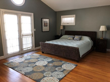 Brewster Cape Cod vacation rental - Large master bedroom with king bed
