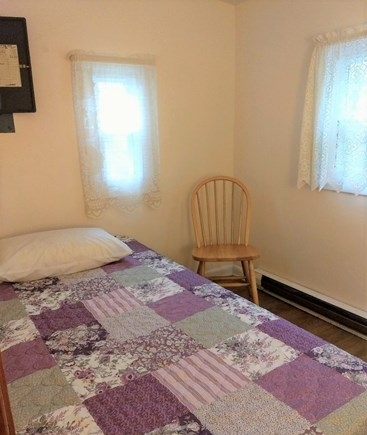 Truro Cape Cod vacation rental - Third bedroom with a twin sized bed, dresser.