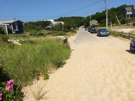 Truro Cape Cod vacation rental - Fisher Beach is only steps away from the cottage.