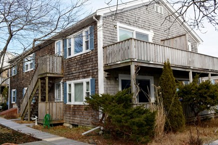 Provincetown Cape Cod vacation rental - Outside view of condominium building. Unit is 1st floor right.