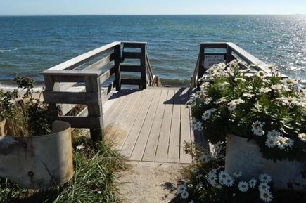 Provincetown Cape Cod vacation rental - Stairs to beach