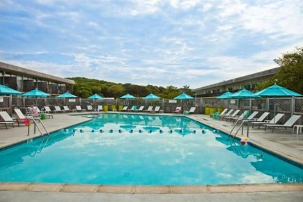 Provincetown Cape Cod vacation rental - Pool at Harbor Hotel, across Snail Road, available to Bay Colony
