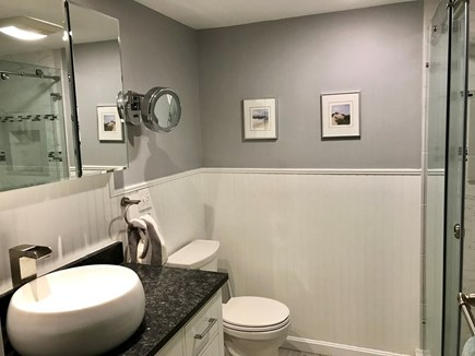 Brewster Cape Cod vacation rental - Water Fall House: 1st Floor Full Bath with walk-out rain shower.