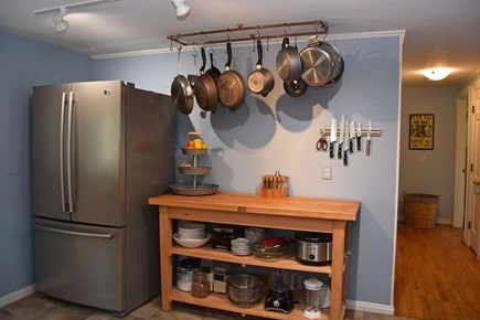 Brewster Cape Cod vacation rental - Water Fall House: Kitchen small appliances.