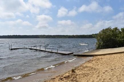 Brewster Cape Cod vacation rental - Walk to beach at Seymour Pond