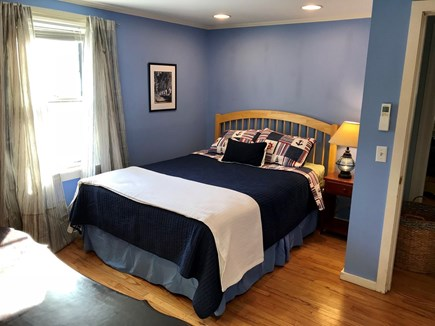 Brewster Cape Cod vacation rental - Water Fall House: Bedroom #2: 1st Floor Queen-Sized bed.