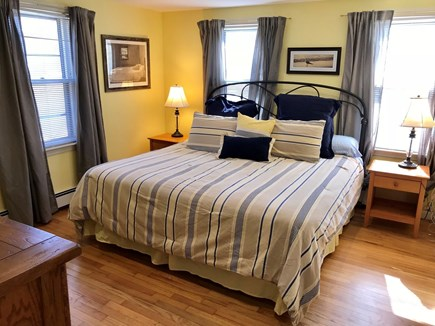 Brewster Cape Cod vacation rental - Water Fall House: Bedroom #1: 1st Floor King-Sized bed.