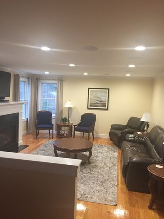 Dennis Cape Cod vacation rental - Comfortable living room with flat screen