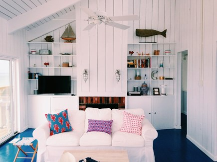 Dennis Cape Cod vacation rental - White, light & bright great room