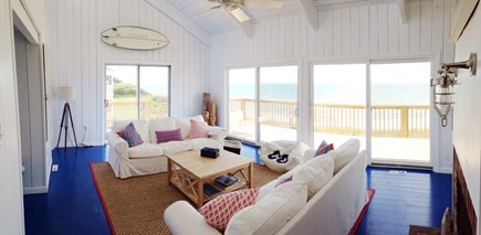 Dennis Cape Cod vacation rental - Walls of glass looking at the ocean