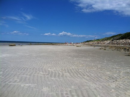Dennis Cape Cod vacation rental - Gorgeous sandy private beach at your doorstep